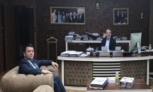Başkanımız Sn. İsmail Raci BAYER, ASKİ Genel Müdürü Sn. Necmettin TAHİROĞLU'nu ziyaret etti.