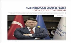 """Başkanlığımız faaliyetlerine ilişkin röportaj """"Anadolu Yerel Yönetimler"""" dergisinde yayımlanmıştır."""