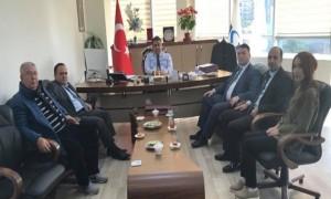 Başkanımız Sn. İsmail Raci BAYER VASKİ Genel Müdürü Sn. Ali TEKATAŞ'ı makamında ziyaret etti.