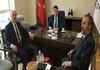 Kütahya Belediye Başkanı Sn. Kamil SARAÇOĞLU ve Başkan Yardımcısı Sn. Galip GÜLTEKİN, Başkanımız Sn. İsmail Raci BAYER'i Ziyaret Etti