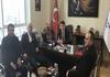 Rize Belediye Başkanlığı Yetkilileri Başkanımız Sn. İsmail Raci BAYER'i ziyaret etti