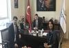 AB Bakanlığı Yetkilileri Başkanımız Sn. İsmail Raci BAYER'i Ziyaret Etti