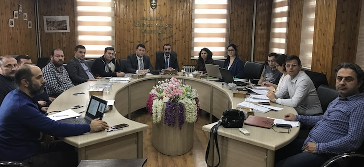 Safranbolu Drinking Water and Sewerage Project Preliminary Meeting was held