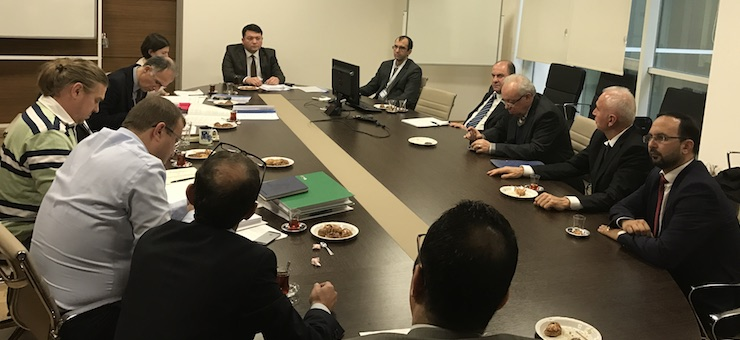 Bartın Wastewater Project Monthly Monitoring Meeting was held