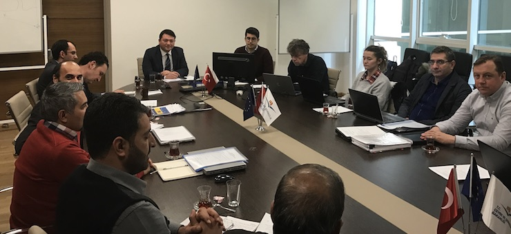 Monthly Monitoring Meeting of the 1st Construction Work of Siverek Wastewater Project was held