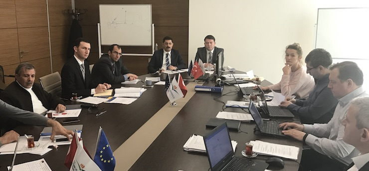 Monthly Monitoring Meeting of 2nd Construction Work of Siverek Wastewater Project was held