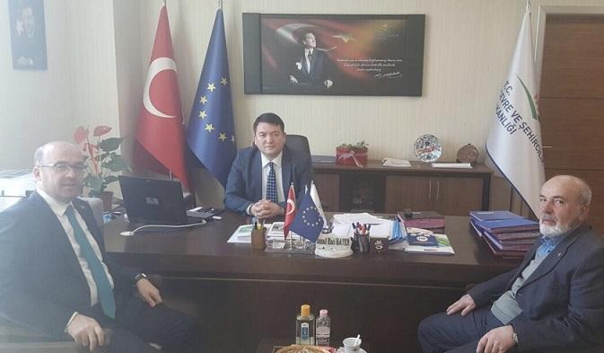 Deputy Major of Bilecik Bozuyük Municipality Mr. Hayrettin ELDEMİR visited our director Mr. İsmail Raci BAYER