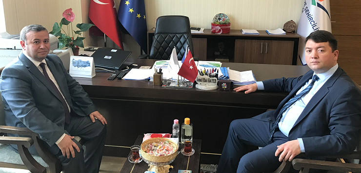 Kastamonu Provincial Directorate of Ministry of Environment and Urbanisation Mr. Oktay MARŞAP, our Director Mr. İsmail Raci BAYER.