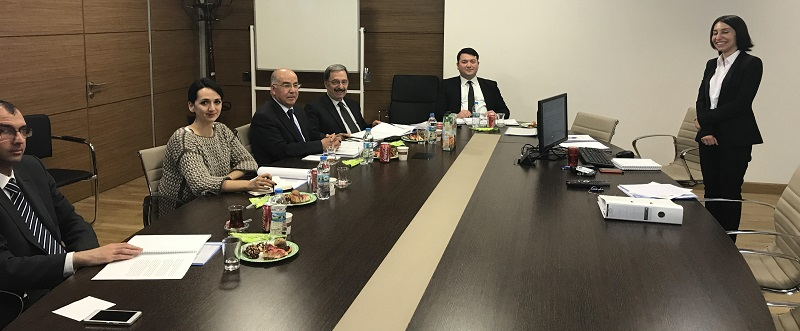 Department of European Union Investments' Assistant Expert Chemical Engineer Nurnisa ELÇİN presented her expert thesis