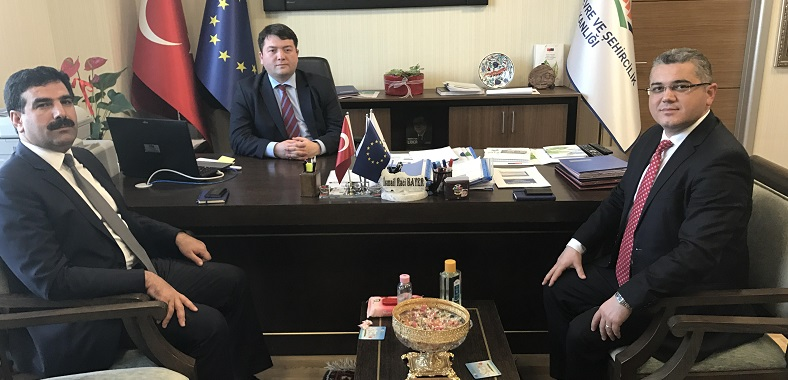 Nevşehir and Sivas Provincial Directorates of Ministry of Environment and Urbanisation visited our director Mr. Ismail Raci BAYER