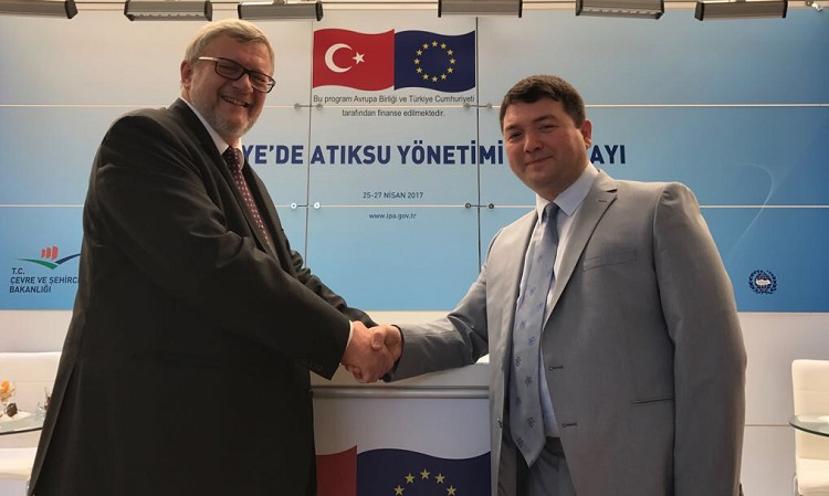 """Workshop on Wastewater Management in Turkey"" commenced in Antalya."