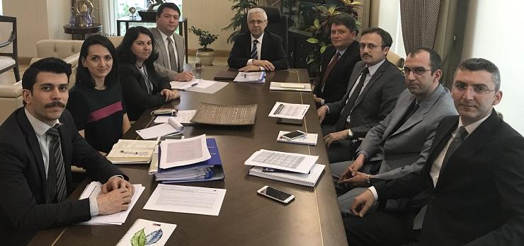 The Undersecretary Prof. Dr. Mustafa ÖZTÜRK was briefed by our Directorate.