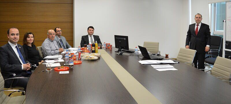 Department of European Union Investments' Assistant Expert Mechanical Engineer Şafak IŞIK presented his expert thesis.