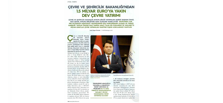 An interview on our Department's activities was published in a popular business magazine.
