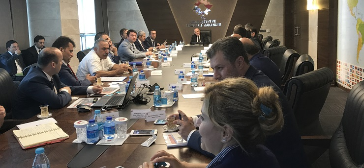 Our Director Mr. İsmail Raci BAYER participated to the meeting held under the presidency of the Science, Industry and Technology Minister Mr. Faruk ÖZLÜ.