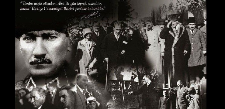 10 th of November message of remembrance day of Atatürk
