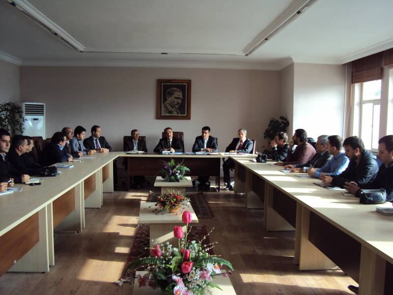 Yapı Denetim Firmalarının temsilcileri ile toplantı.