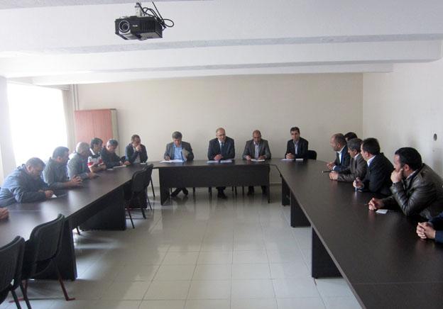 29-30.05.2012 Tarihinde İl-İlçe Belediyeleri, Yapı Denetim ve Hazır Beton Firmalarıyla Toplantı Yapılmıştır.
