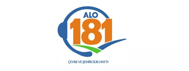 Alo 181 Çevre ve Şehircilik Hattı Devrede