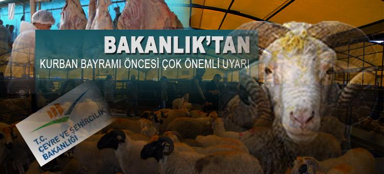 UYGUNSUZ KURBAN KESİMLERİ ALO 181'E İHBAR EDİLECEK