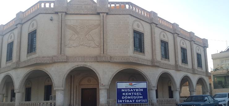 Mardin İli Nusaybin İlçesi'nde Bakanlığımız Tarafından Yürütülen Kentsel Dönüşüm Çalışmaları