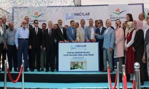 Kayseri İli, Hacılar İlçesi, Aşağı Ve Orta Mahalleleri Temel Atma Töreni