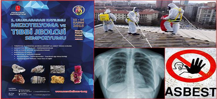 Genel Müdürlüğümüz, 1. Uluslararası Katılımlı Mezotelyoma ve Tıbbi Jeoloji Sempozyumu'na Katıldı.