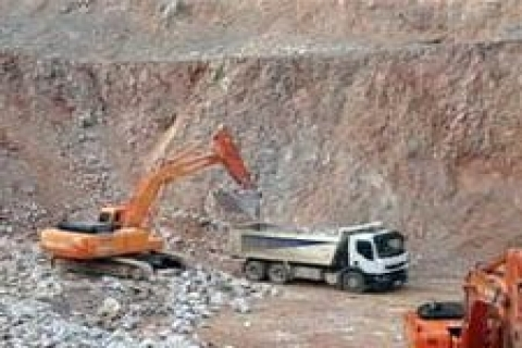 ER:3301888 Erişim Nolu Kalker Ocağı ve Kırma-Eleme Tesisi