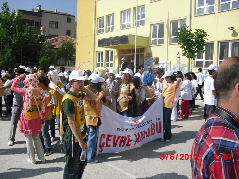 Dünya Çevre Günü etkinlikleri 03. Haziran 2012 tarihinde başladı.