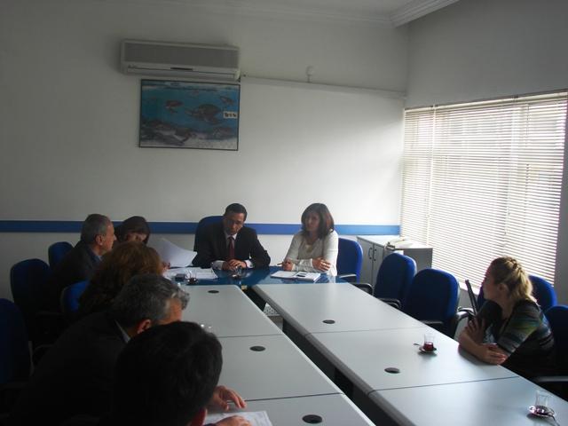 Avrupa Birliği Uyum Danışma ve Yönlendirme Kurulu (AB UDYK) Çevre ve Enerji Alt Çalışma Grubu 2012 yılı 1.Toplantısı