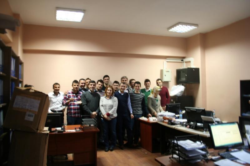 Arkadaşımız Gökhan BİLGİN'in Ardahan'a ve arkadaşlarına vedası