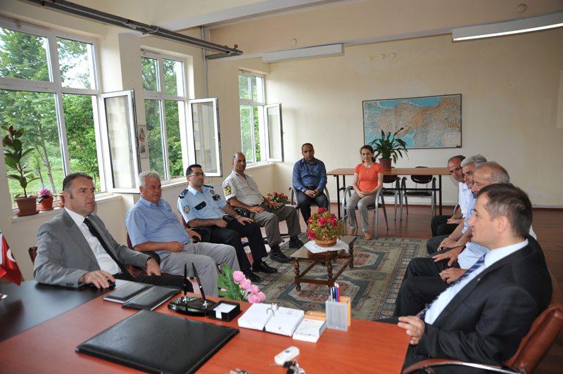 Arhavi Hacılar İlköğretim Okulu Ziyareti