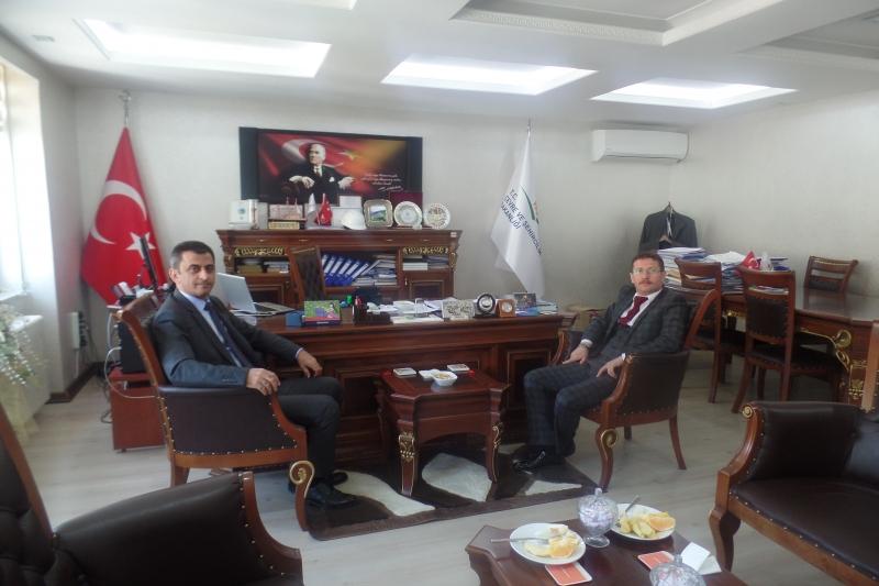 Artvin Çoruh Üniversitesi Rektörü Sn. Fahrettin TİLKİ nin Müdürlüğümüzü Ziyareti