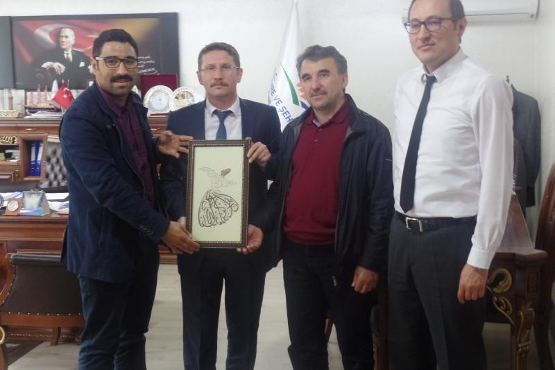 Giresun Üniversitesinden Müdürlüğümüze Ziyaret