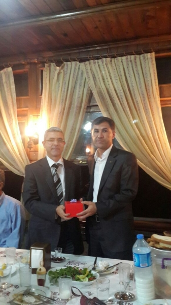 Mustafa ÖZMEN' e Uğurlama