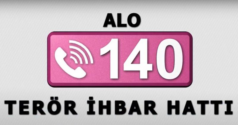 ALO 140 - TERÖR İHBAR HATTI