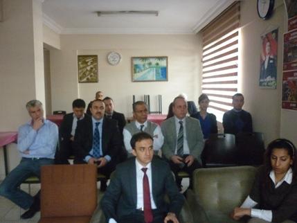 Müdürlüğümüz Personeline Yapı Malzemelerinin Denetimi ve CE İşaretlemesi Kapsamında Bilgilendirme Toplantısı Yapılmıştır.