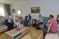 Bakan Özhaseki 15 Temmuz Şehidi Hüseyin Kalkan'ın Ailesini Ankara'da Ziyaret etti