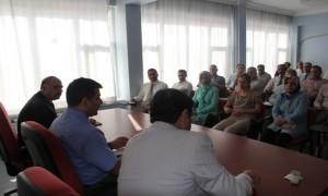 Yapım Şubede değerlendirme toplantısı yapıldı.