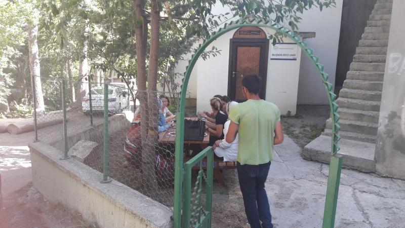 Kılıçkaya Köyü'nde yapılan ÇED Halkın Katılımı Toplantısı