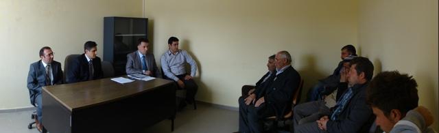 Bayburt Bayındırlık ve İskan Müdürlüğü Doğaltaş Üreticilerine Yönelik Bilgilendirme Toplantısı