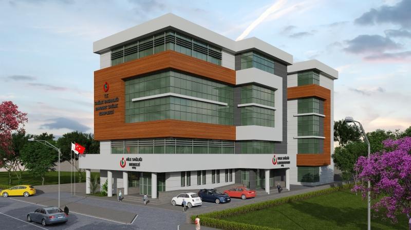Bayburt 1 Nolu Aile Sağlığı Merkezi (ASM) + Halk Sağlığı Laboratuvarı (HSM) + Halk Sağlığı Müdürlüğü (HSM) Hizmet Binası Yapım İşi Başarıyla Devam Etmektedir.