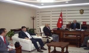 Bayındır Memur-Sen Yetkililerinin Müdürlüğümüzü Ziyareti.