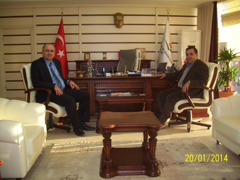 Ticaret ve Sanayi Odası Başkanının Müdürlüğümüzü Ziyareti