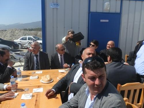 Burdur Gölhisar 500 kişilik Öğrenci Yurdu İnşaatı Temel Fotoğrafları