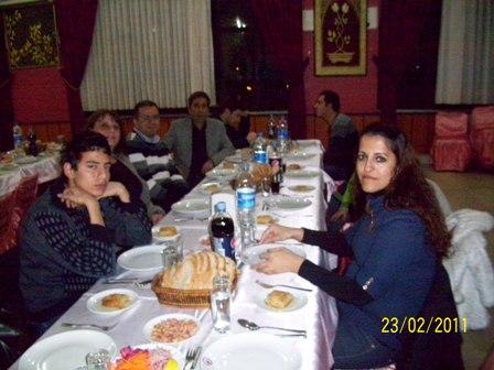 Burdur Bayındırlık ve İskan Müdürlüğü Asaleti tastik olan arkadaşlarımız ve Sözleşmeli personellerimizin veda yemeği