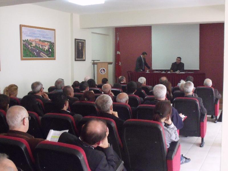 Yapı Denetim Hizmet Bedelleri ve Hakesişlerle ilgili bilgilendirme toplantısı