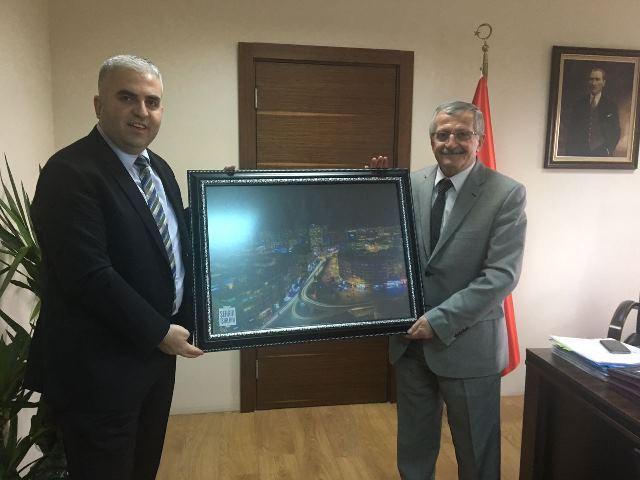 UEDAŞ Genel Müdürü İl Müdürümüzü ziyaret etti.