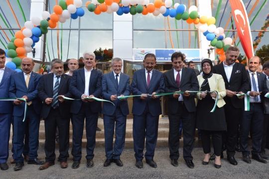 Sayın Bakanımız Mehmet ÖZHASEKİ,  İl Müdürlüğümüz Hizmet Binasının açılışını gerçekleştirdi.