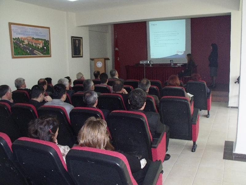 Standart BM TRADA Belgelendirme A.Ş. tarafından Müdürlüğümüz toplantı salonunda seminer düzenlenmiştir.